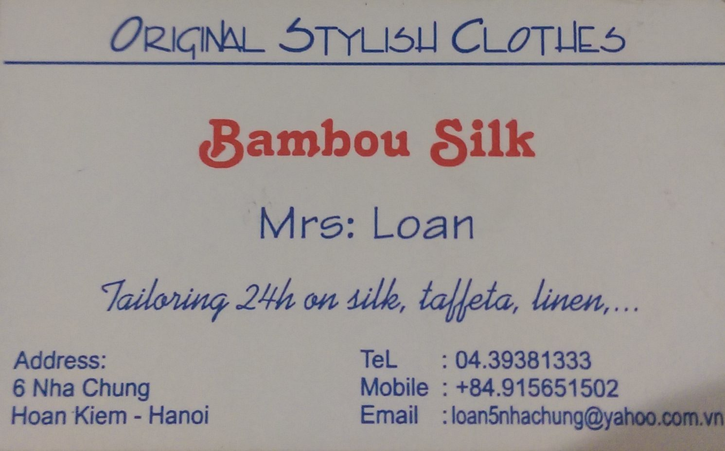 tips buying suit Vietnam