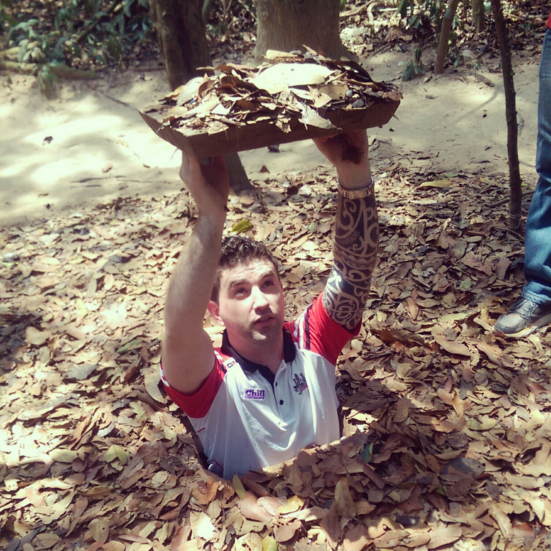 Cu Chi Tunnels Vietnam Travel Blog
