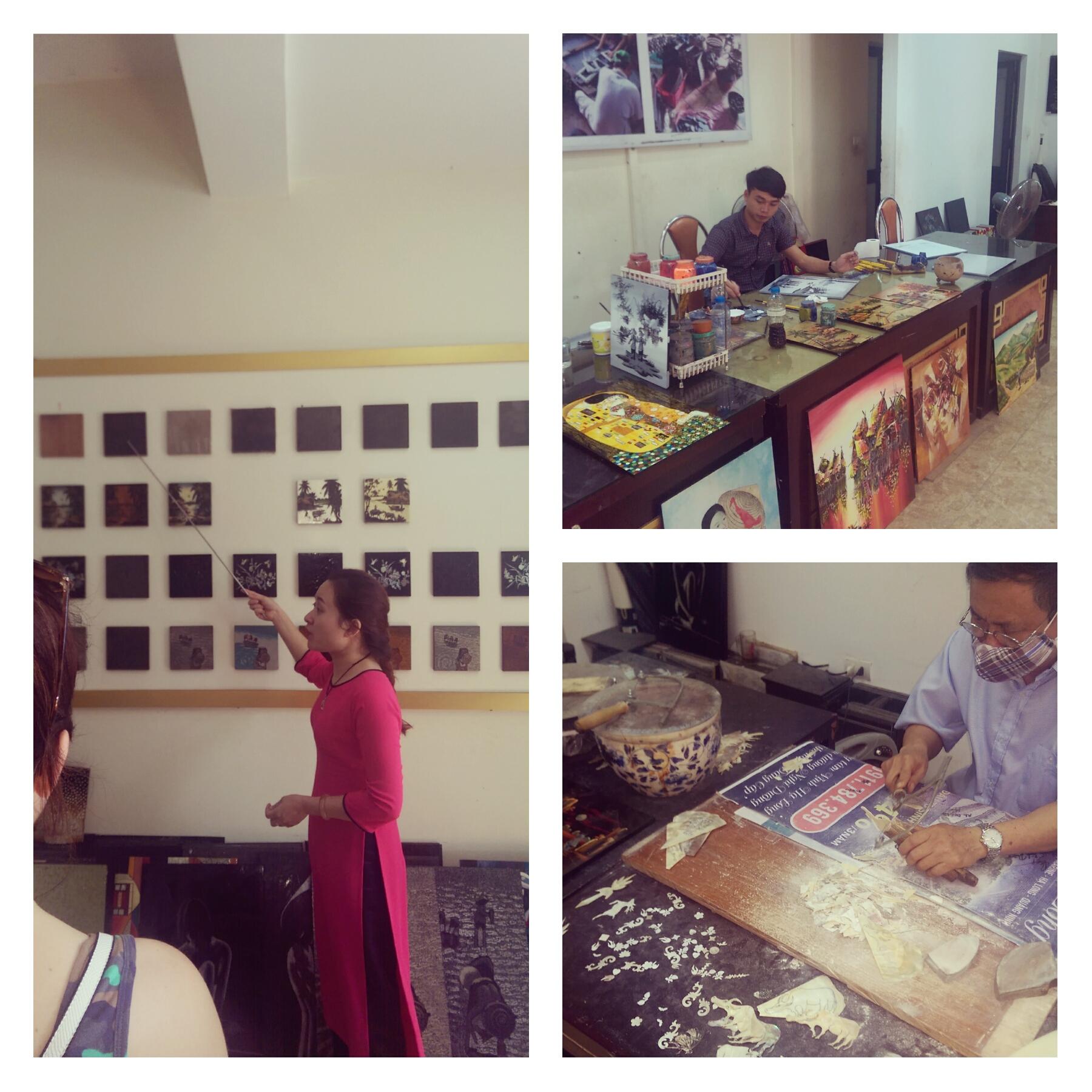 Vietnamese Lacquer Paintings Vietnam Travel Blog