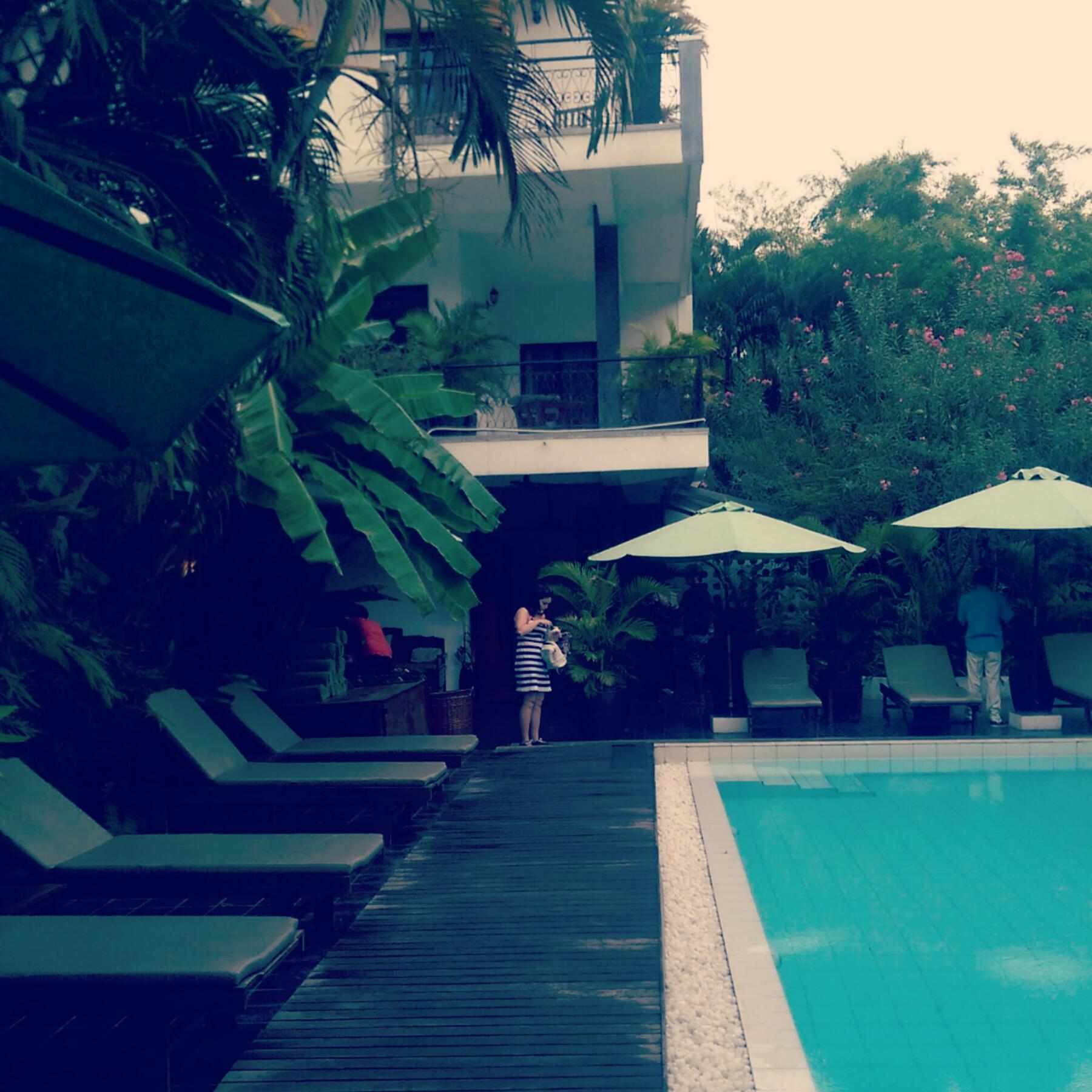 Samsara Villa Review Pool
