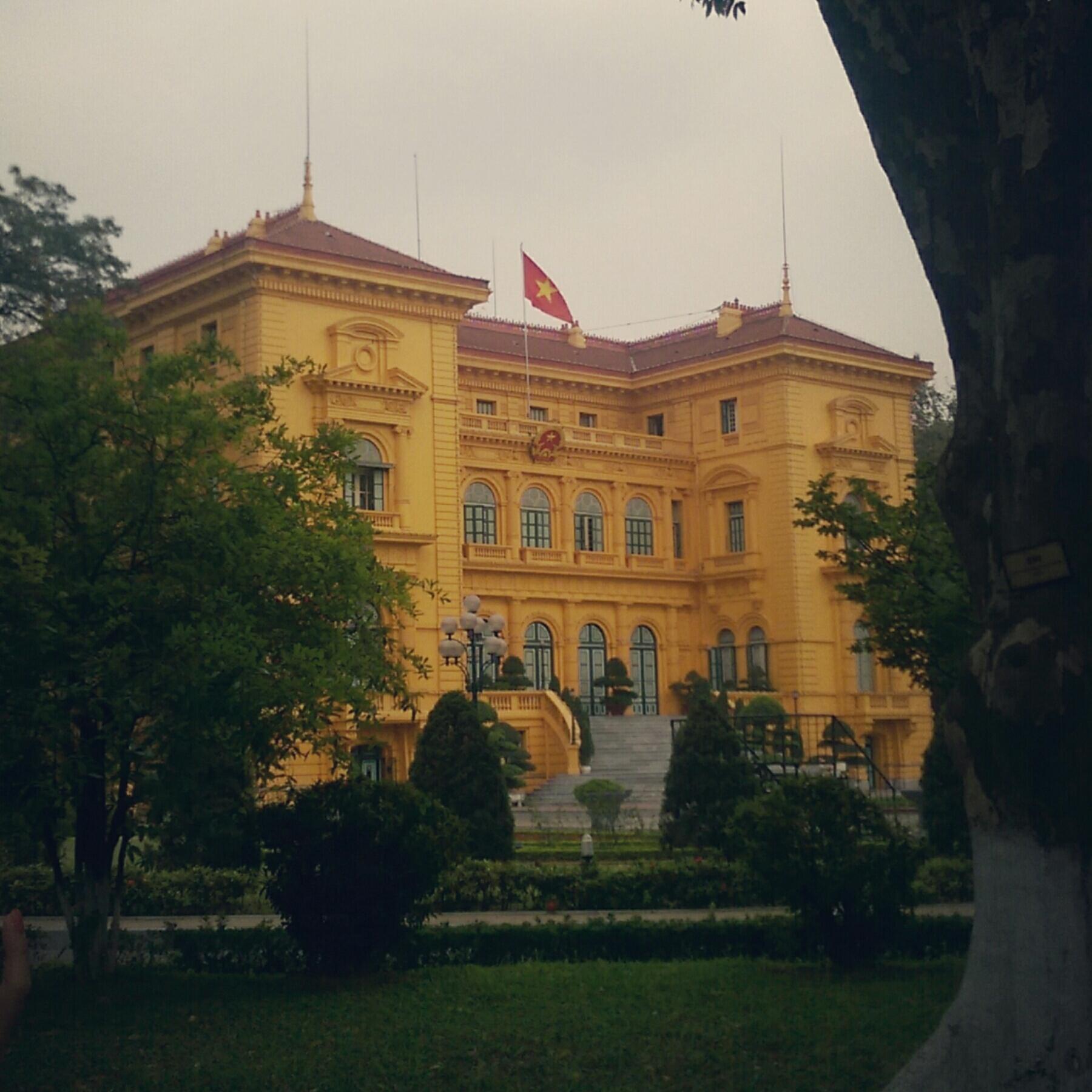 Yellow House Hanoi Vietnam Travel Blog