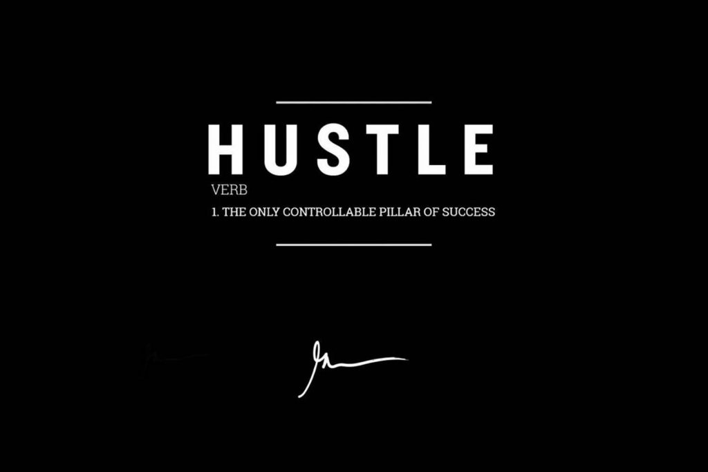 #inspiration by the man himself @garyvee #hustle #hustlehard #nevergiveup #keepmovingforward #dailygrind